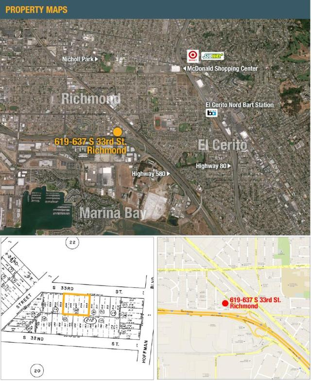 Carlson Apartments - Map